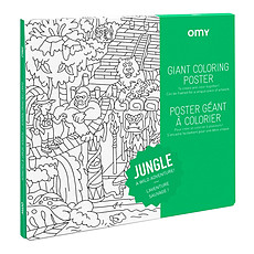 Achat Livre & Carte Poster à Colorier - Jungle