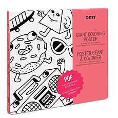 Achat Livre & Carte Poster à Colorier - Pop