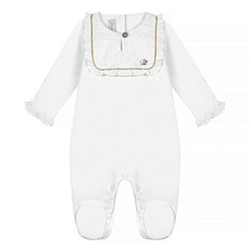 Achat Body & Pyjama Pyjama Dors-Bien Monogramme Blanc - 1 Mois