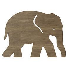 Achat Suspension  décorative Lampe Applique Eléphant - Bois Foncé