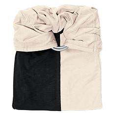 Achat Porte bébé La Petite Echarpe sans Noeud - Noir et Ecru