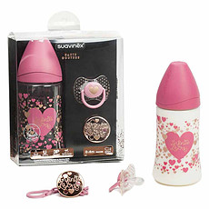 Achat Biberon Pack Couture Rose - 270 ml