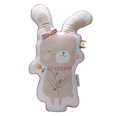 Achat Coussin Coussin Aventure Lapin - Rose