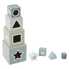 Achat Mes premiers jouets Boîte à Formes en Bois Aventure Bleu