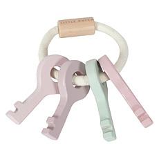 Achat Mes premiers jouets Trousseau de Clés en Bois Rose
