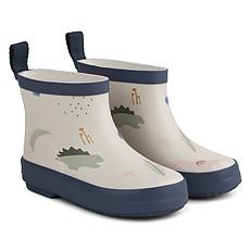 Achat Chaussons & Chaussures Bottes de Pluie Tobi Dino - Mix