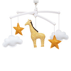 Achat Mobile Mobile Musical Girafe - Jaune