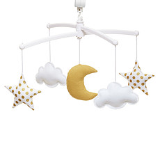 Achat Mobile Mobile Lune et Etoiles - Gold