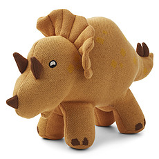 Achat Peluche Tricera Dino Moutarde - Grand