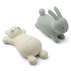 Achat Mes premiers jouets Jouets de Bain Vikky Rabbit Dusty Mint & Cat Crème de la Crème
