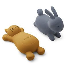 Achat Mes premiers jouets Jouets de Bain Vikky Rabbit Blue Wave & Cat Mustard