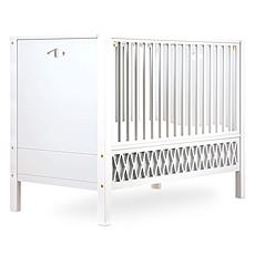 Achat Lit bébé Lit Bébé Evolutif Harlequin Blanc - 60 x 120 cm