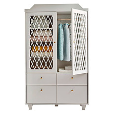 Achat Armoire Armoire 2 Portes Harlequin - Light Sand
