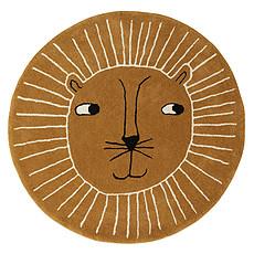 Achat Tapis Tapis Lion Caramel - Ø 100 cm