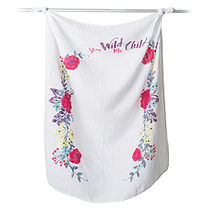 Achat Lange Lange en Coton et Cartes - Stay Wild My Child