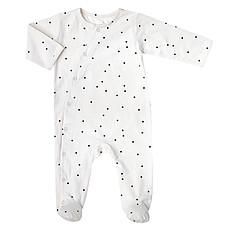 Achat Body & Pyjama Combinaison Jour et Nuit Pois Crème - 3 Mois