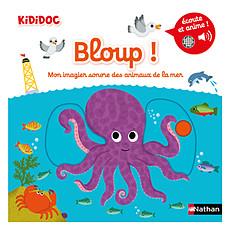 Achat Livre & Carte Bloup ! Mon Imagier Sonore des Animaux de la Mer