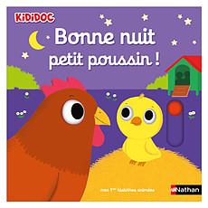 Achat Livre & Carte Bonne Nuit Petit Poussin