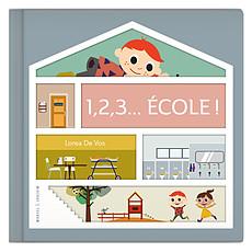 Achat Livre & Carte 1,2,3 Ecole