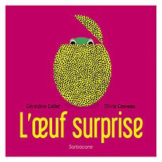 Achat Livre & Carte L'Oeuf Surprise