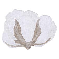 Achat Tapis Tapis Lavable Fleur de Coton - 120 x 130 cm