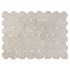Achat Tapis Tapis Lavable Biscuit Beige  - 120 x 160 cm