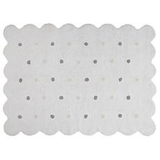 Achat Tapis Tapis Lavable Biscuit Blanc - 120 x 160 cm