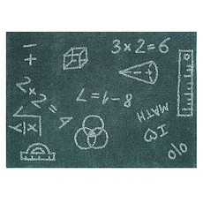 Achat Tapis Tapis Lavable I Love Math - 140 x 200 cm