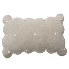 Achat Coussin Coussin Biscuit - Beige