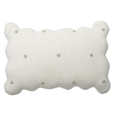 Achat Coussin Coussin Biscuit - Blanc