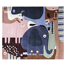 Achat Tapis Tapis Puzzle Animaux - 120 x 140 cm
