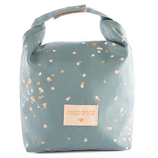 Achat Sac isotherme Lunch Bag Waterproof - Gold Confetti & Magic Green