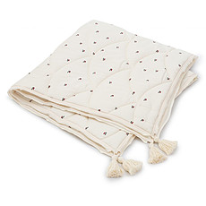 Achat Linge de lit Couverture en Coton Bio - Cherry