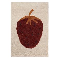 Achat Tapis Tapis Fruiticana Fraise - 80 x 120 cm