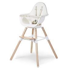 Achat Chaise haute Chaise Haute Evolu One.80° Bois et Blanc
