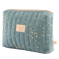 Achat Trousse Trousse de Toilette Travel - Gold Confetti & Magic Green