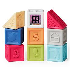 Achat Mes premiers jouets Cubes Village Coloré