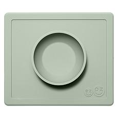 Achat Vaisselle & Couvert Set de Table et Assiette Tout-en-1 Irrenversable Happy Bowl - Vert Amande