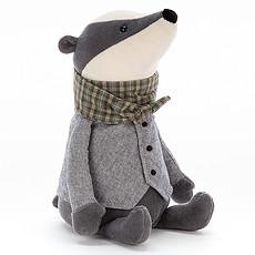Achat Peluche Riverside Rambler Badger