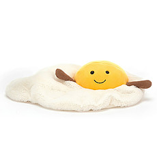 Achat Peluche Amuseable Fried Egg