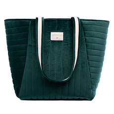 Achat Sac à langer Sac de Maternité Savanna Velvet - Jungle Green
