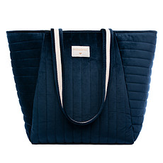 Achat Sac à langer Sac de Maternité Savanna Velvet - Night Blue