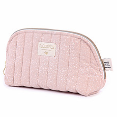 Achat Trousse Trousse de Toilette Holiday - White Bubble & Misty Pink