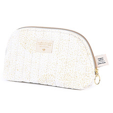 Achat Trousse Trousse de Toilette Holiday - Gold Bubble & White