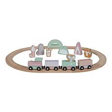 Achat Mes premiers jouets Circuit Train en Bois - Rose