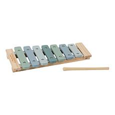 Achat Mes premiers jouets Xylophone en Bois Aventure - Bleu