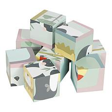 Achat Mes premiers jouets Puzzle à Cubes en Bois Zoo