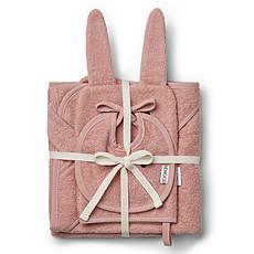 Achat Linge & Sortie de bain Pack Adele Rabbit - Rose