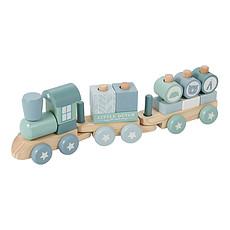 Achat Mes premiers jouets Train à Blocs - Bleu
