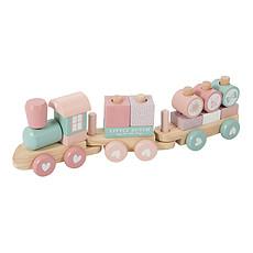 Achat Mes premiers jouets Train à Blocs - Rose